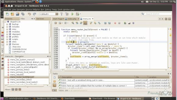 Some useful Netbeans functions