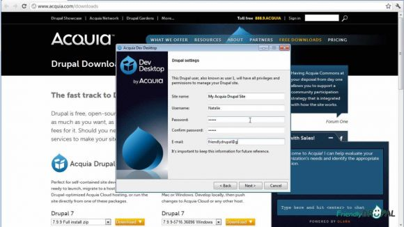 Install Acquia Dev Desktop